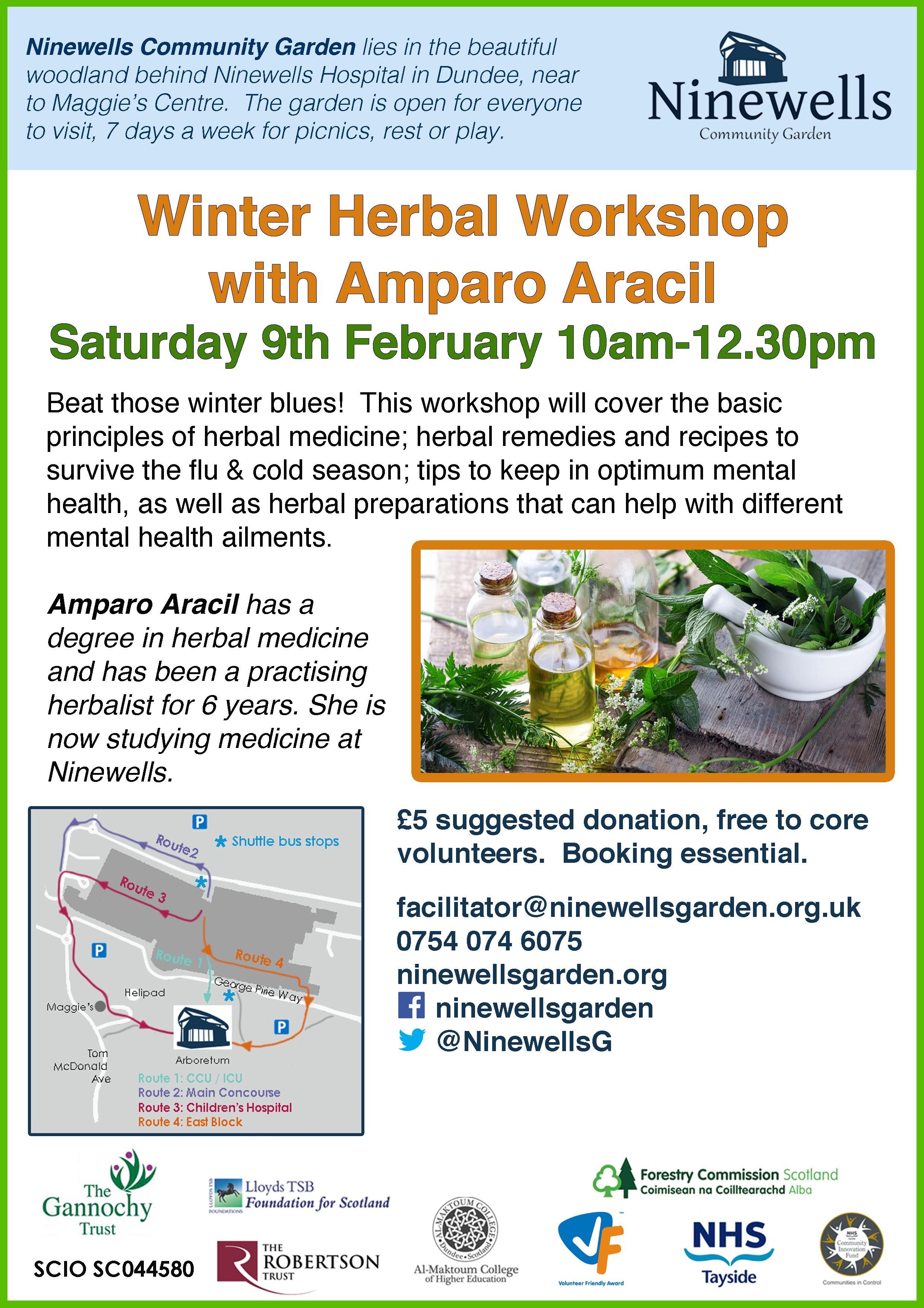 winter herb workshop