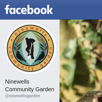 Screenshot of Ninewells Garden Facebook page